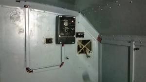 OB-65 Heizungssteuerung mit neuen Kabelkanälen