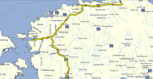 Etappe Pärnu - Lahemaa (c) OSM