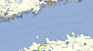 Etappe Helsinki - Tallinn (c) OSM